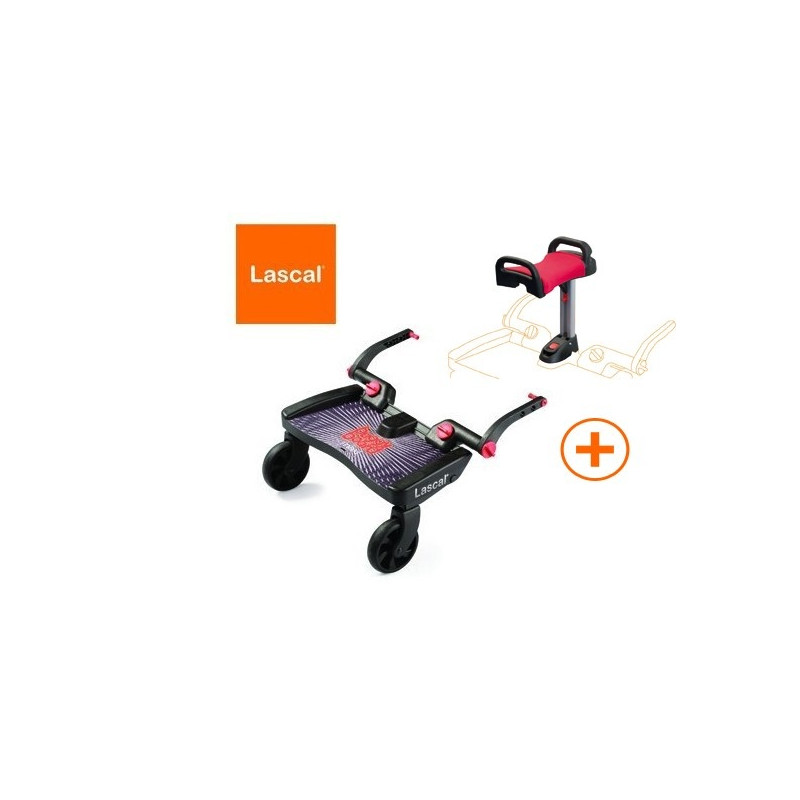 PATINETE BUGGY BOARD MAXI + ASIENTO LASCAL