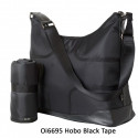 BOLSO HOBO BLACK TAPE OIOI