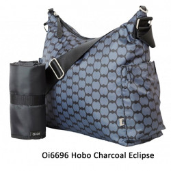 BOLSO HOBO CHARCOAL ECLIPSE OIOI