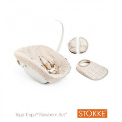 JUEGO TEXTIL NEW BORN STOKKE
